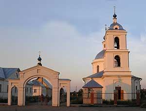 Свято-Введенский храм в селе Фроловском