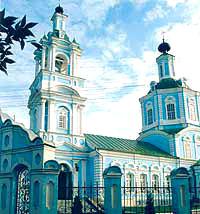 Введенский храм в Воронеже